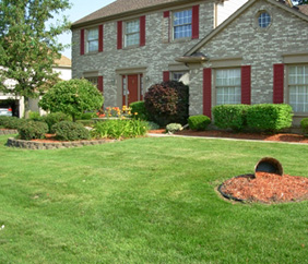 Landscape Design & Installation in SE Michigan - Executive Property Maintenance - manicured
