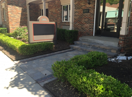 Southfield Landscape Company - Executive Property Maintenance - walkway